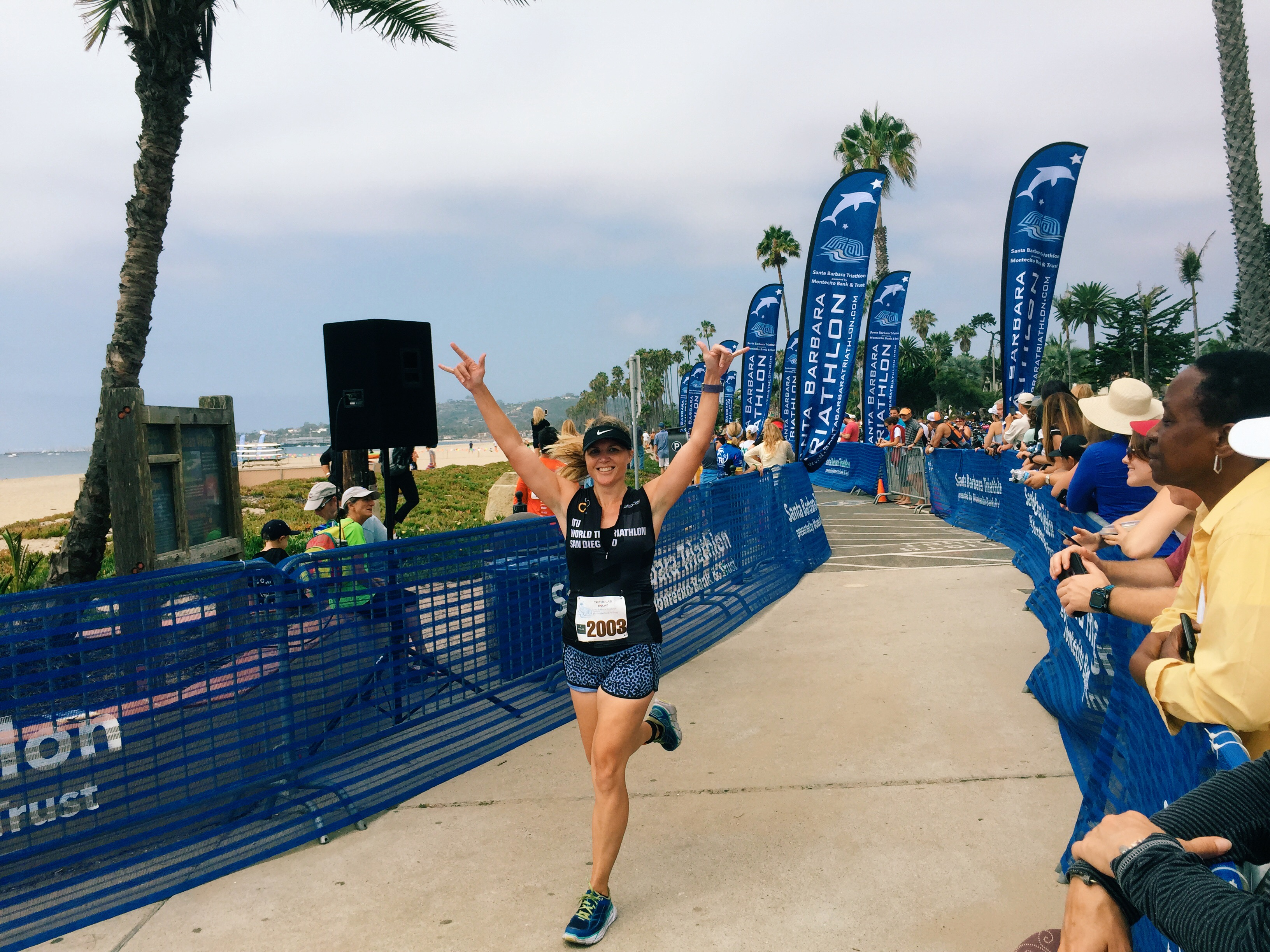 Santa Barbara Triathlon Relay Race Report   Tri Run Twin Mom